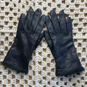 Charter Club genuine leather gloves S/M
